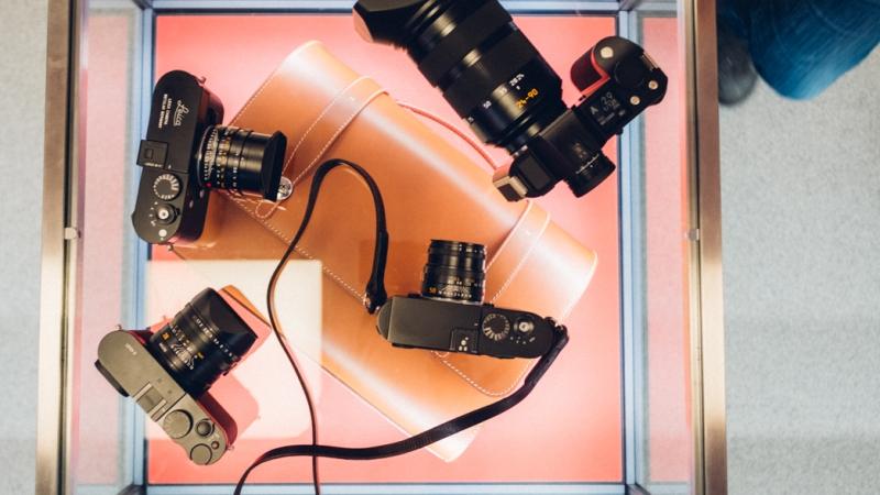 Platea in the Leica Shop inCopenhagen
